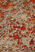 Old peel-off paint wall — Stock Photo