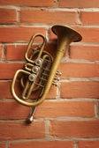 Antiquarian horn — Stock Photo