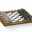 Collectable chess — Stock Photo
