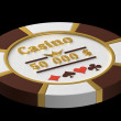 Casino chip — Stock Photo