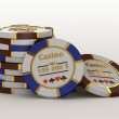 Royalty-Free Stock Photo: Casino chips
