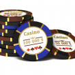 Royalty-Free Stock Photo: Casino chips.