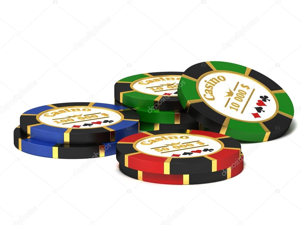 A stack of chips for the casino. — Stock Photo #4811165