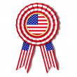 Ribbon award USA — Stock Photo