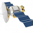 Stock Photo: Artificial Earth satellite