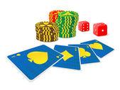 Gamble — Stock Vector