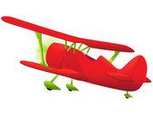 Biplane — Stock Vector