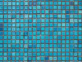 Tile of greek blue — Stock Photo