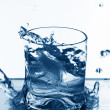 Vodka splash — Foto Stock