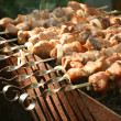Stock Photo: Shish kebab