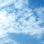 Blu sky — Stock Photo
