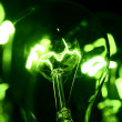 Royalty-Free Stock Photo: Green bulb