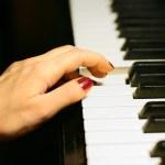 Piano melody — Stock Photo #4816973