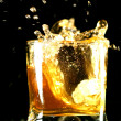 Whiskey splash — Stock Photo #4885146
