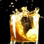 Whiskey splash — Stock Photo
