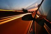 Prędkość samochodu — Zdjęcie stockowe