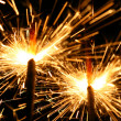 Celebration sparklers — Stock Photo #5020967
