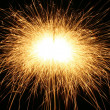 Sparks background - Foto Stock