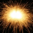 Sparks background - Stock Photo