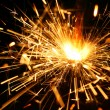 Stock Photo: Abstract spark