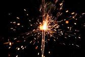 Christmas sparkler — Stockfoto