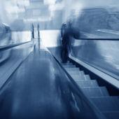 Fondo escalera borrosa — Foto de Stock