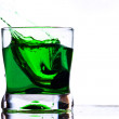 Coctail drink splash - Stock Photo