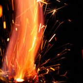 Abstract spark — Stock Photo