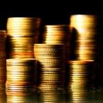 Golden coins — Stock Photo #5302530