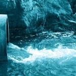 Danger water — Stock Photo