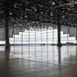 Stock Photo: Empty huge workshop