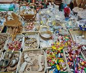 Craftwork handicraft handmade article — Stock Photo
