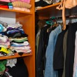Clothes in the wardrobe - Foto de Stock  