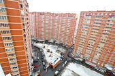 Yard in an apartment block — Stock Photo
