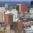 General view of Downtown Hamilton, Ontario, Canada. — Stockfoto