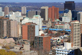 General view of Downtown Hamilton, Ontario, Canada. — Foto Stock