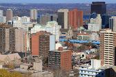 Vista geral da cidade de hamilton, ontário, canadá. — Foto Stock