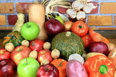 Vegetables and Fruits. — Stock Photo