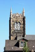The church clock tower. — Stock Photo