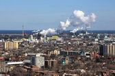 Steel factories. — Stock Photo