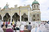 Ethiopian Orthodox Good Friday mass — Stock Photo