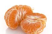 Pealed mandarin orange — Stock Photo