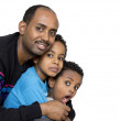 Royalty-Free Stock Photo: Father and his two boys
