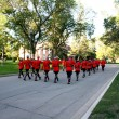 RCMP sunset retreat ceremony — Stock Photo #5187138