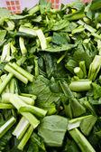 Los vegetales verdes hojas — Foto de Stock