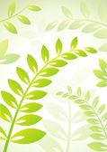 Background with plants — Stock Vector