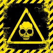 Warning sign of danger - Stock Vector