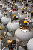 Gas tanks — Stockfoto
