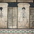 Ancient tai massage instructions - Stock Photo