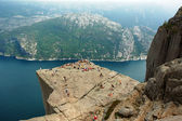 Preikestolen — Stock Photo